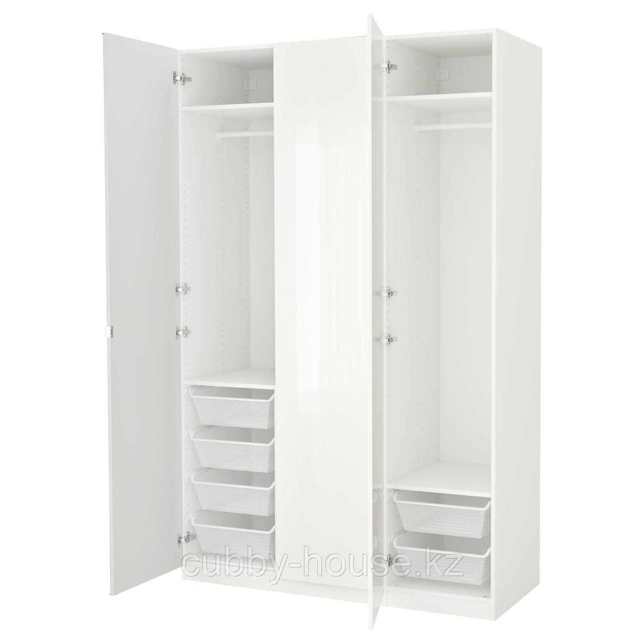 ПАКС Гардероб, белый, Фардаль Викедаль, 150x60x236 см