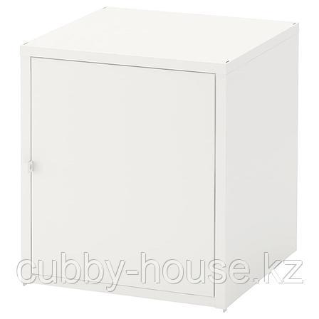 ХЭЛЛАН Шкаф, белый, 45x50 см, фото 2