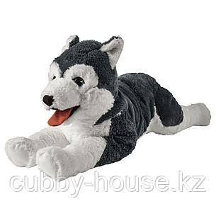 ЛИВЛИГ Мягкая игрушка, собака хаски, сибирский хаски, 57 см, фото 2