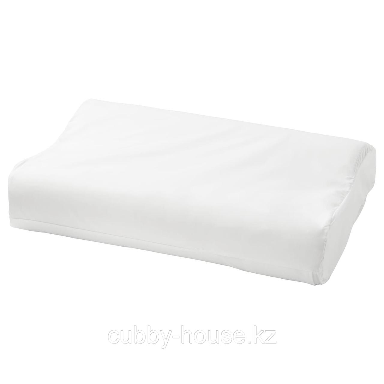 РОЗЕНСКЭРМ Наволочка для эргоном подушки, белый, 33x50 см
