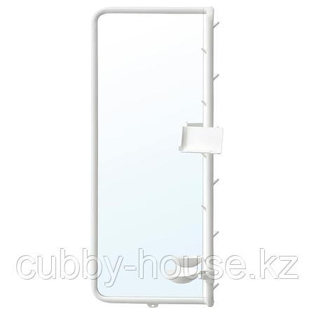 МЁЙЛИГХЕТ Зеркало, белый, 34x81 см, фото 2