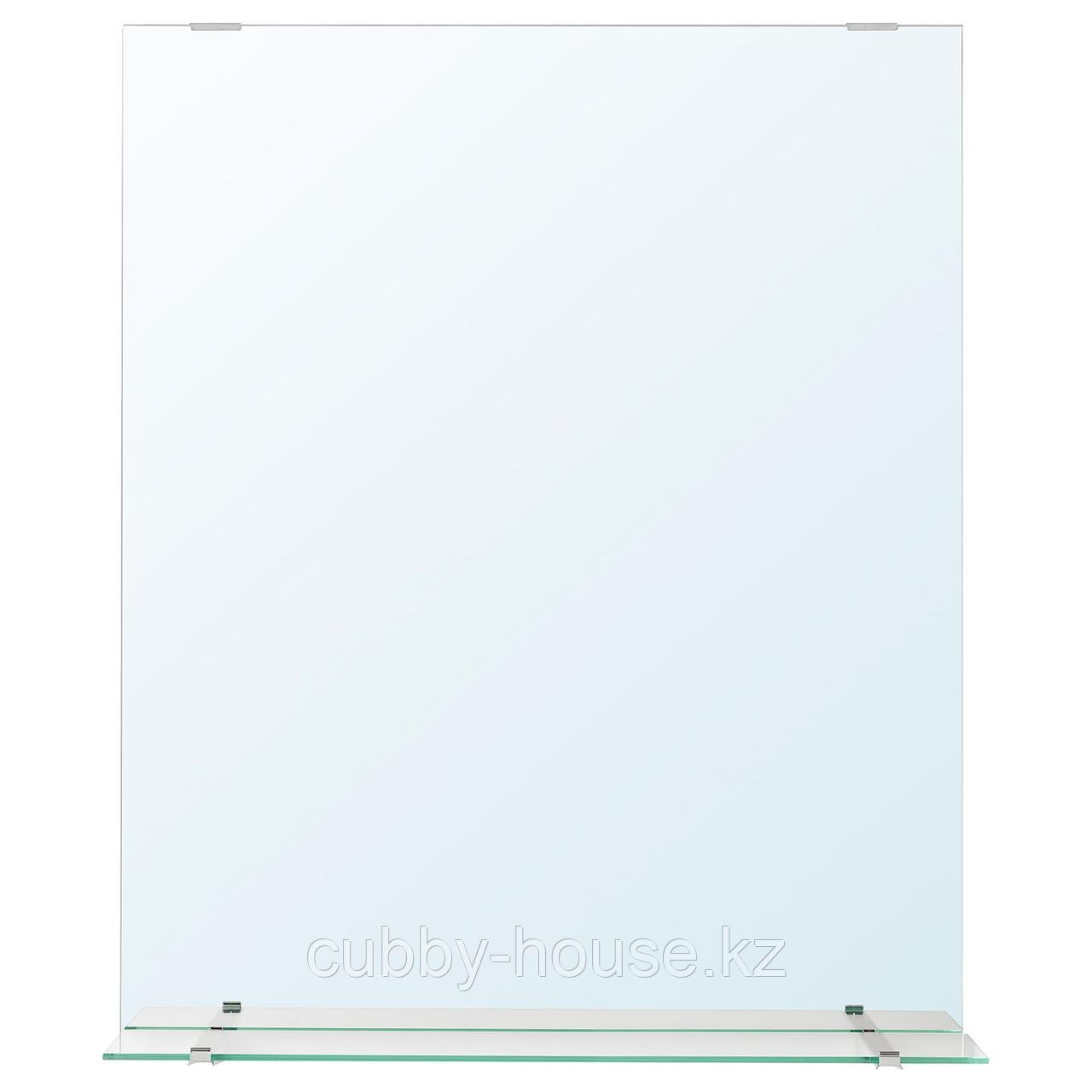 ФУЛЛЕН Зеркало с полкой, 50x60 см