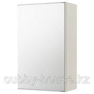 ЛИЛЛОНГЕН Зеркальный шкаф с 1 дверцей, белый, 40x21x64 см, фото 2