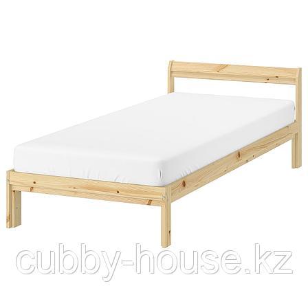 НЕЙДЕН Каркас кровати, сосна, 90x200 см, фото 2