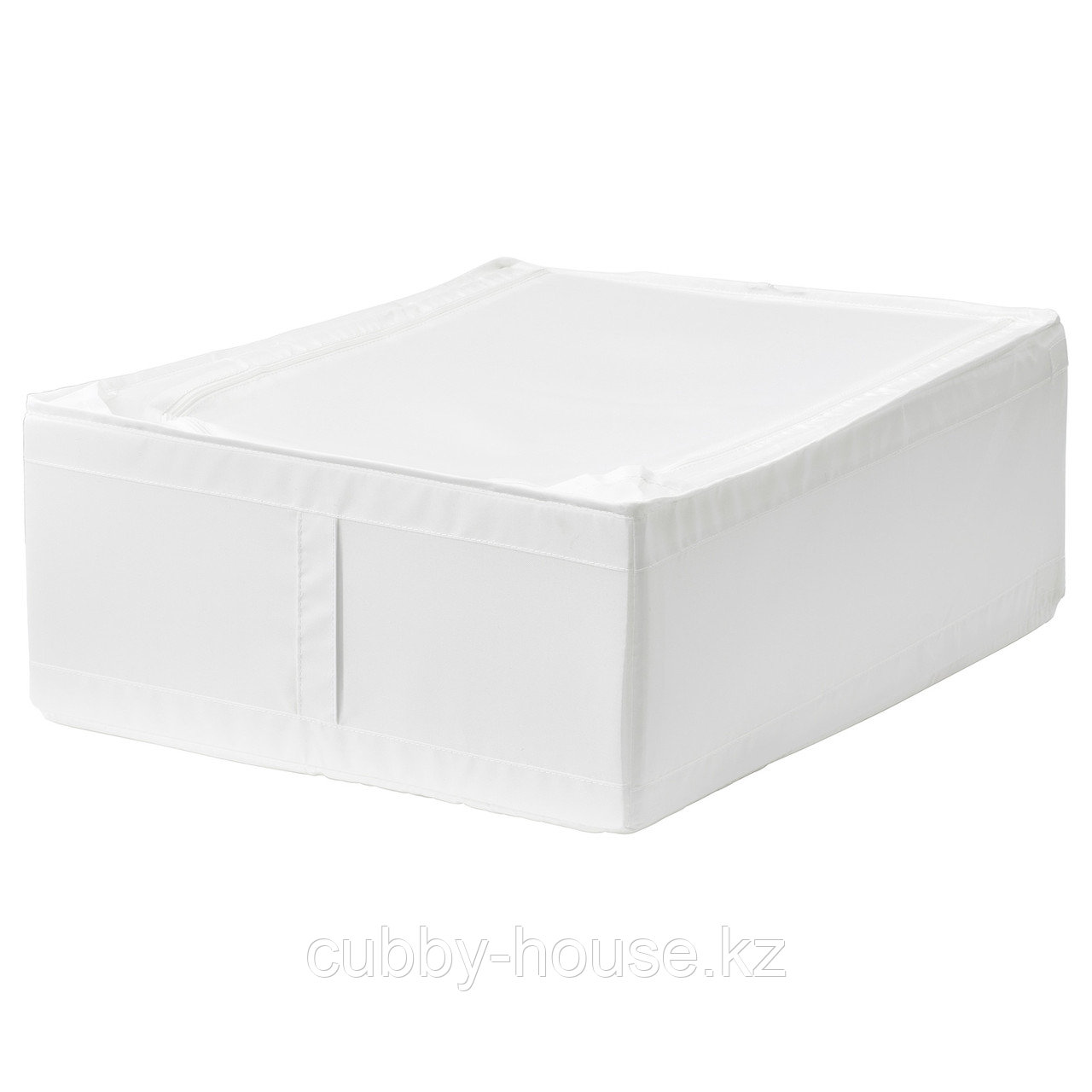 СКУББ Сумка для хранения, белый, 44x55x19 см
