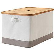 РАБЛА Коробка с крышкой, 35x50x30 см