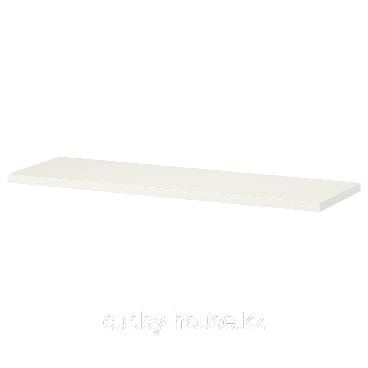 БУРГУЛЬТ Полка, белый, 59x20 см