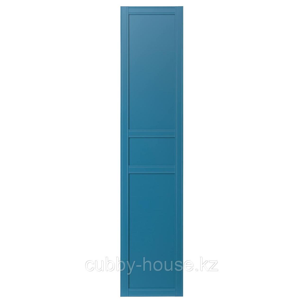 ФЛИСБЕРГЕТ Дверь, синий, 50x229 см