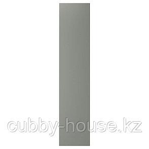 РЕИНСВОЛЛ Дверь, серо-зеленый, 50x229 см, фото 2