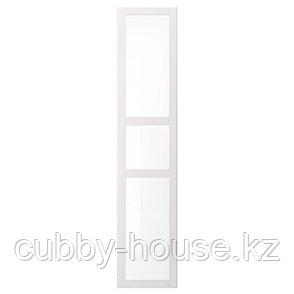 ТИССЕДАЛЬ Дверь, белый, стекло, 50x229 см, фото 2