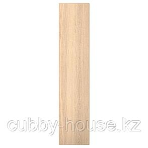 РЕПВОГ Дверь, дубовый шпон, беленый, 50x229 см, фото 2