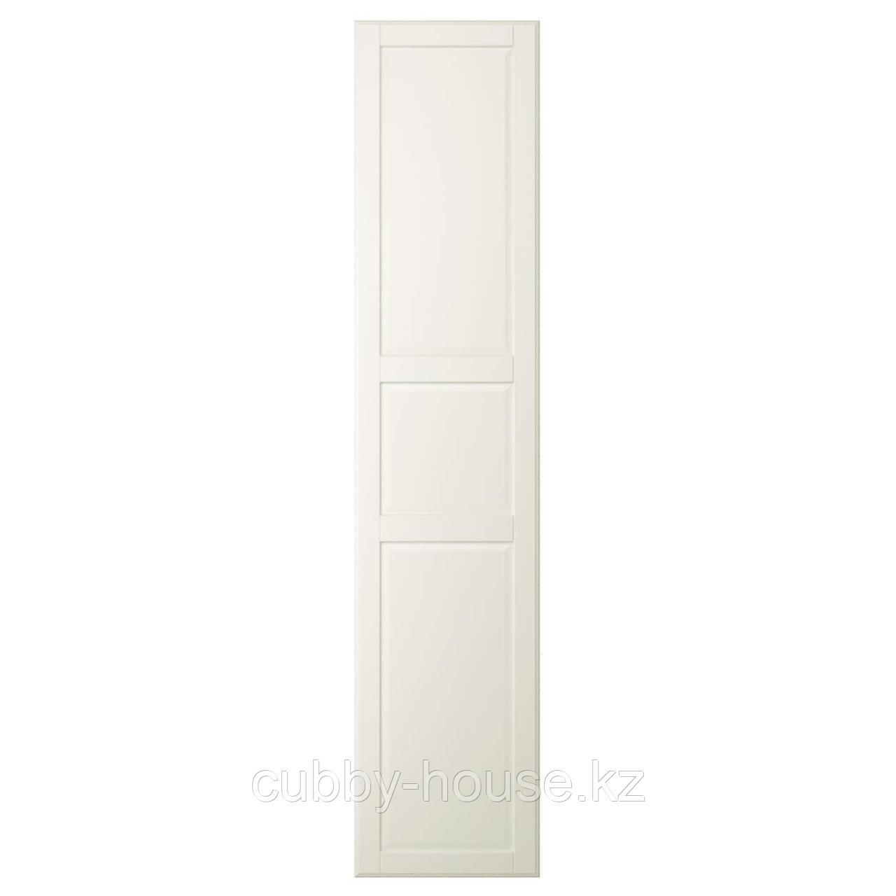 ТИССЕДАЛЬ Дверца с петлями, белый, 50x229 см