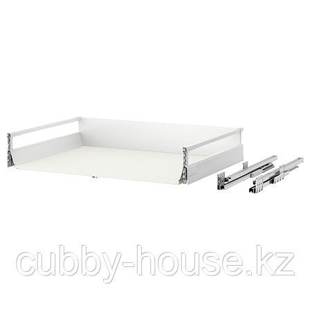 МАКСИМЕРА Ящик, средний, белый, 80x60 см, фото 2