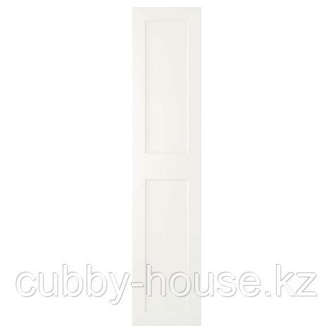 ГРИМО Дверца с петлями, белый, 50x229 см, фото 2