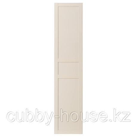 ФЛИСБЕРГЕТ Дверца с петлями, светло-бежевый, 50x229 см, фото 2