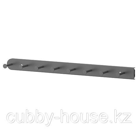 КОМПЛИМЕНТ Выдвижная многофункцион вешалка, темно-серый, 58 см, фото 2