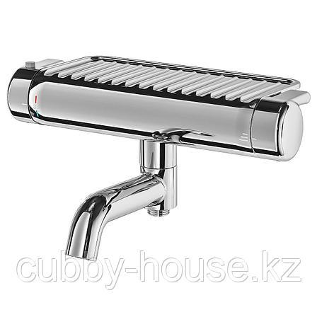 ВОКСНАН Термостатическ смеситель/душ/ванная, хромированный, 150 мм, фото 2