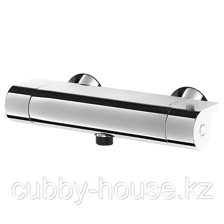 ВАЛЛАМОССЕ Термостатический смеситель д/душа, хромированный, 150 мм, фото 2
