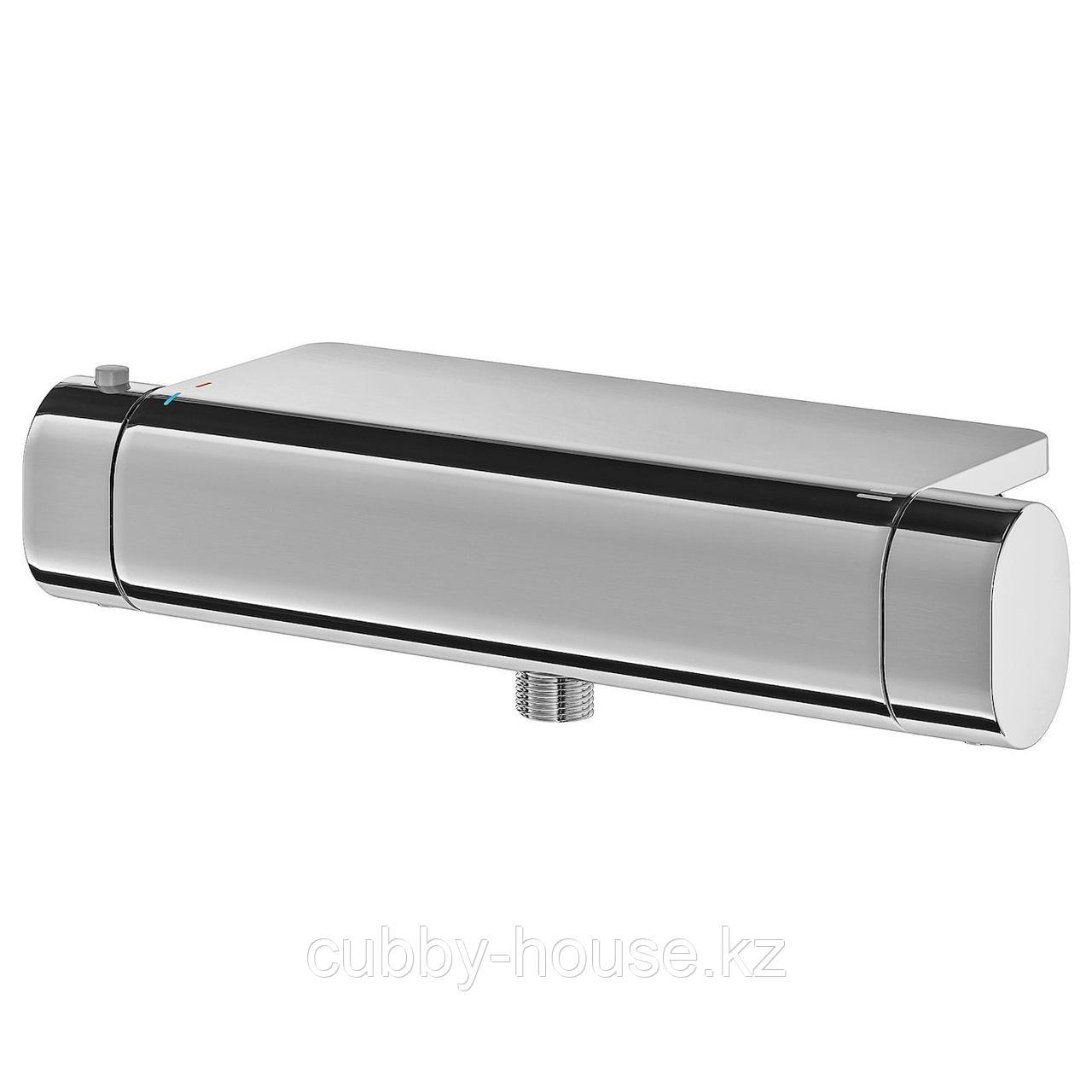 БРОГРУНД Термостатический смеситель д/душа, хромированный, 150 мм