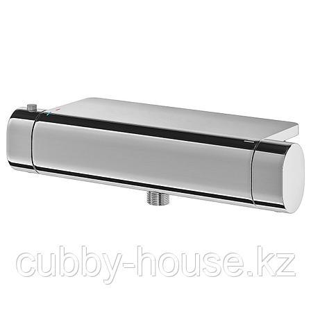 БРОГРУНД Термостатический смеситель д/душа, хромированный, 150 мм, фото 2