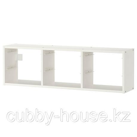 ТРУФАСТ Настенный модуль для хранения, белый, 99x30 см, фото 2