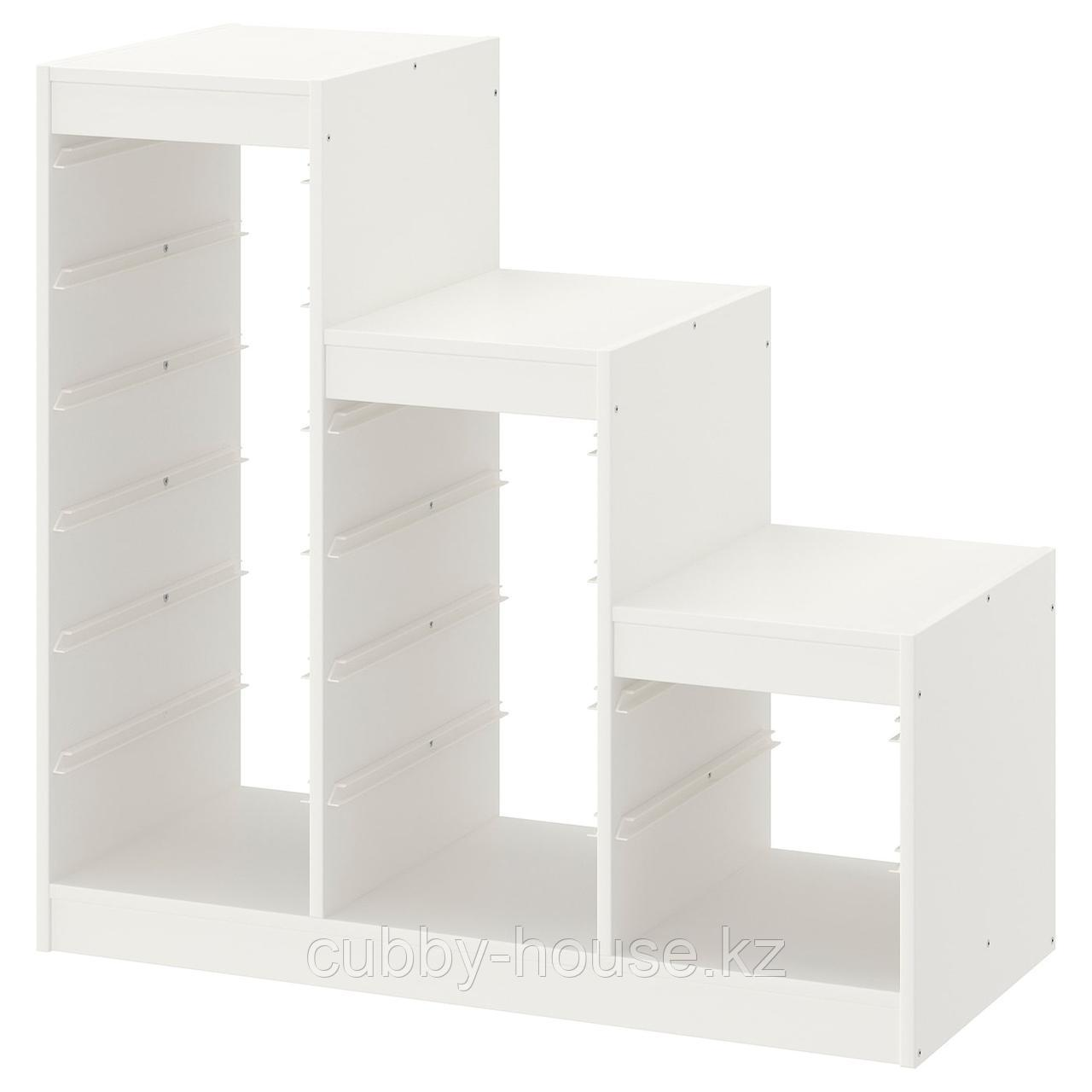 ТРУФАСТ Каркас, белый, 99x44x94 см