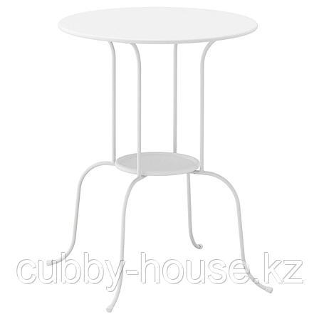 ЛИНДВЕД Придиванный столик, белый, 50x68 см, фото 2