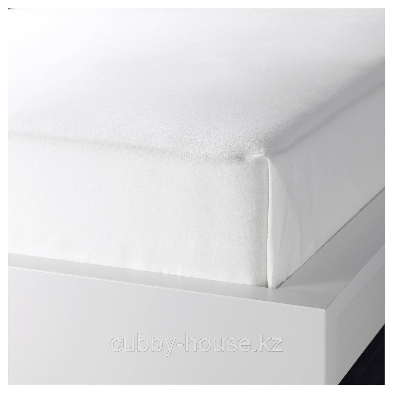 ФЭРГМОРА Простыня, белый, 150x240 см