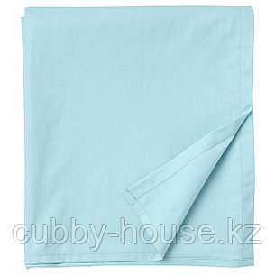 ДВАЛА Простыня, голубой, 240x260 см, фото 2