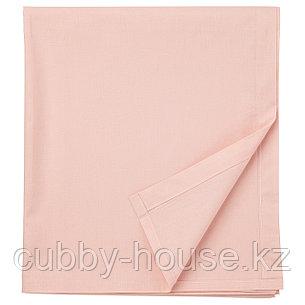 ДВАЛА Простыня, светло-розовый, 240x260 см, фото 2