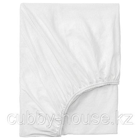 ВОРВИАЛ Натяжная простыня для кушетки, белый, 80x200 см, фото 2