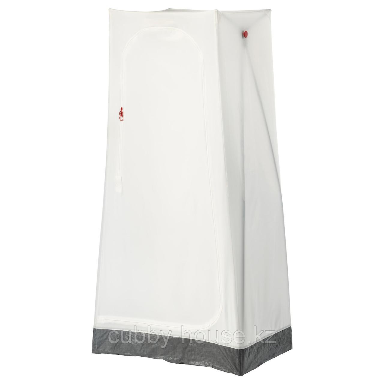 ВУКУ Гардероб, белый, 74x51x149 см