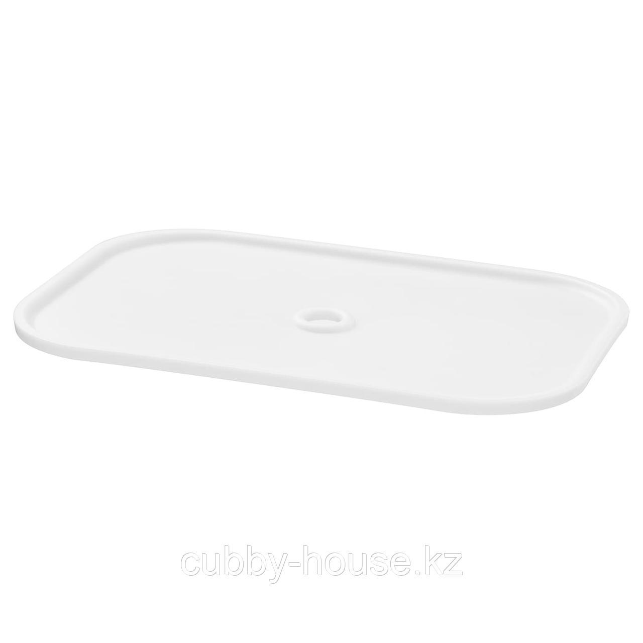 ТРУФАСТ Крышка, белый, 40x28 см