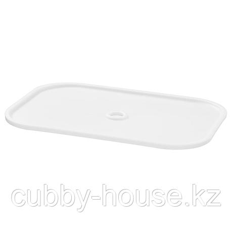 ТРУФАСТ Крышка, белый, 40x28 см, фото 2