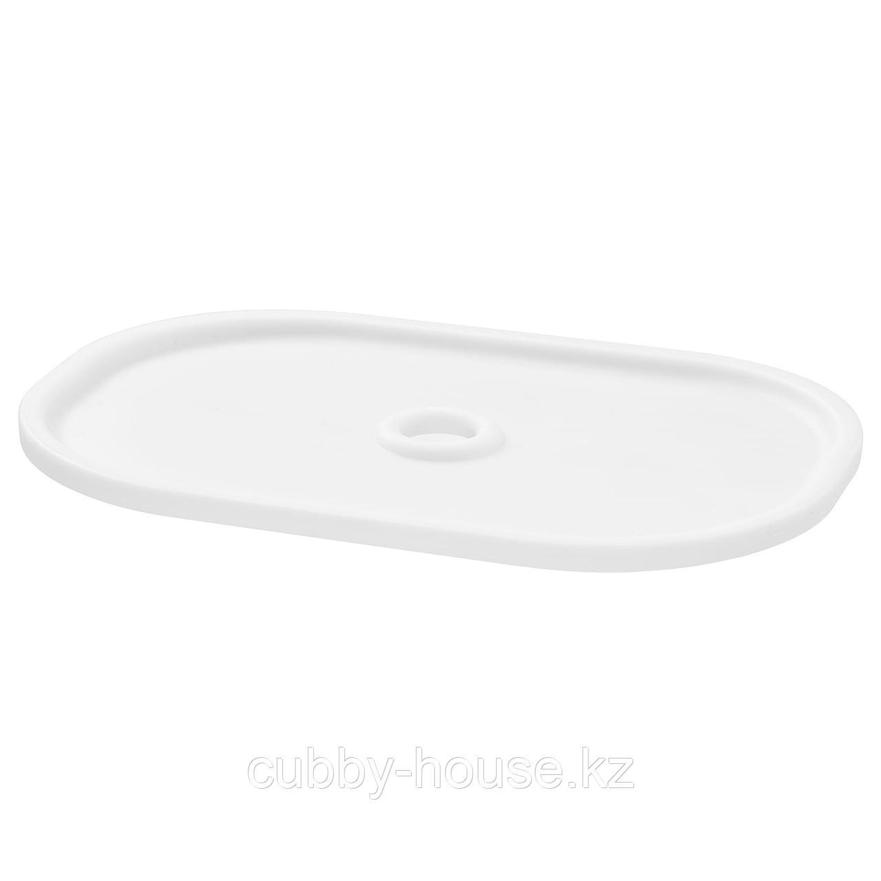 ТРУФАСТ Крышка, белый, 20x28 см