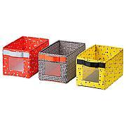 АНГЕЛЭГЕН Коробка, разноцветный, 18x27x17 см 3 шт