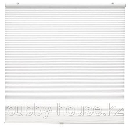 ХОППВАЛС Сотовые жалюзи, белый, 100x155 см, фото 2