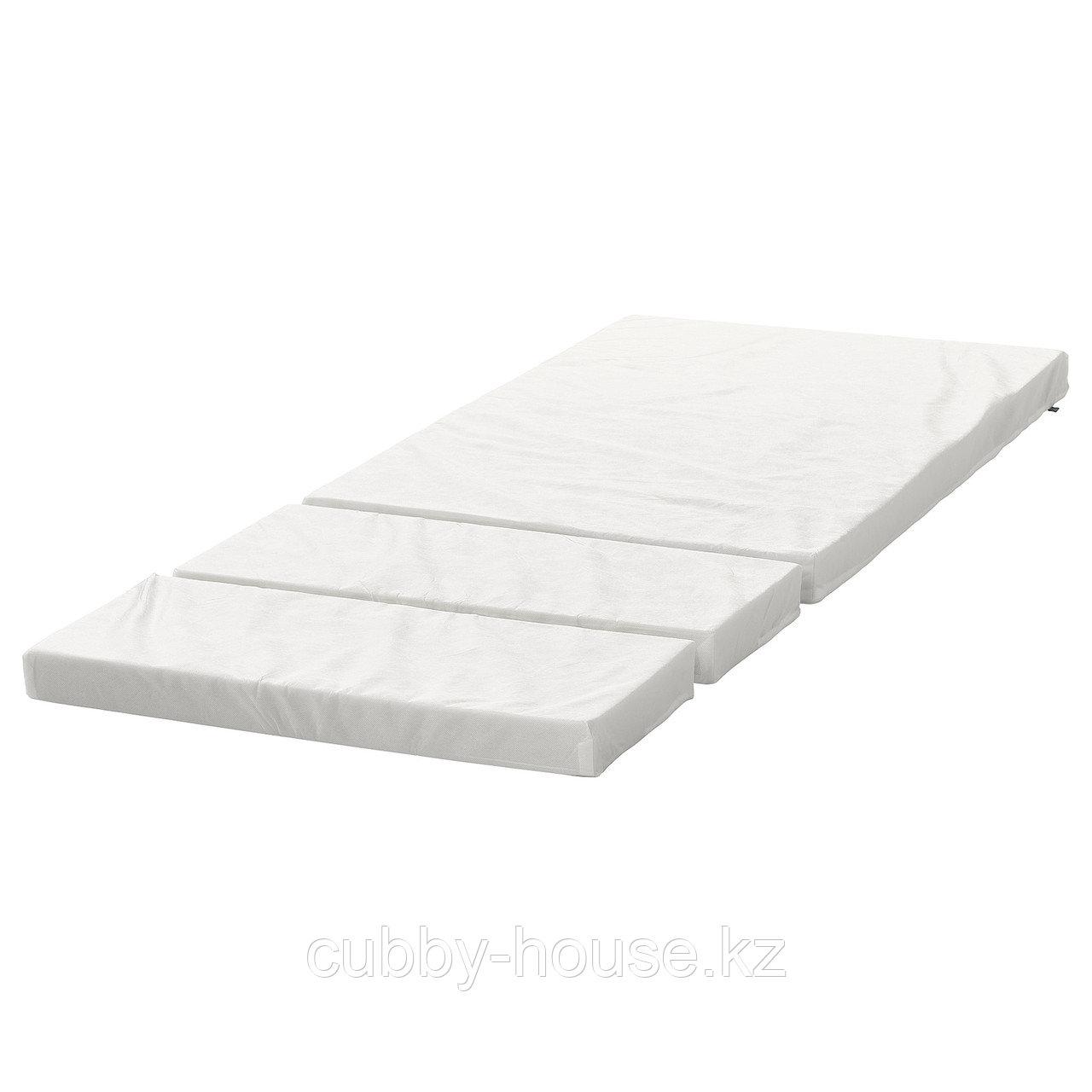 ПЛУТТЕН Матрас д/детской раздвижной кровати, 80x200 см