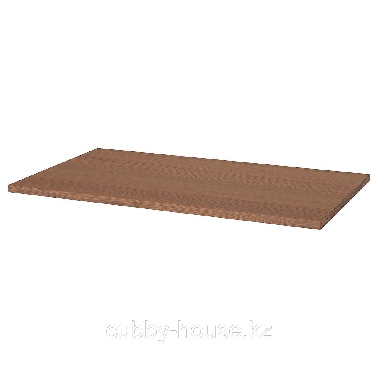 ИДОСЕН Столешница, коричневый, 120x70 см