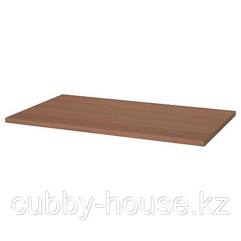 ИДОСЕН Столешница, коричневый, 120x70 см, фото 2