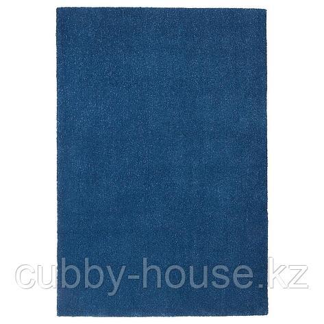 ТЮВЕЛЬСЕ Ковер, короткий ворс, темно-синий, 133x195 см, фото 2