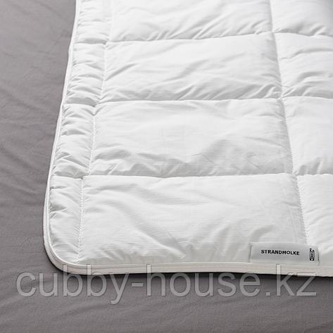 СТРАНДМОЛКЕ Одеяло легкое, 200x200 см, фото 2