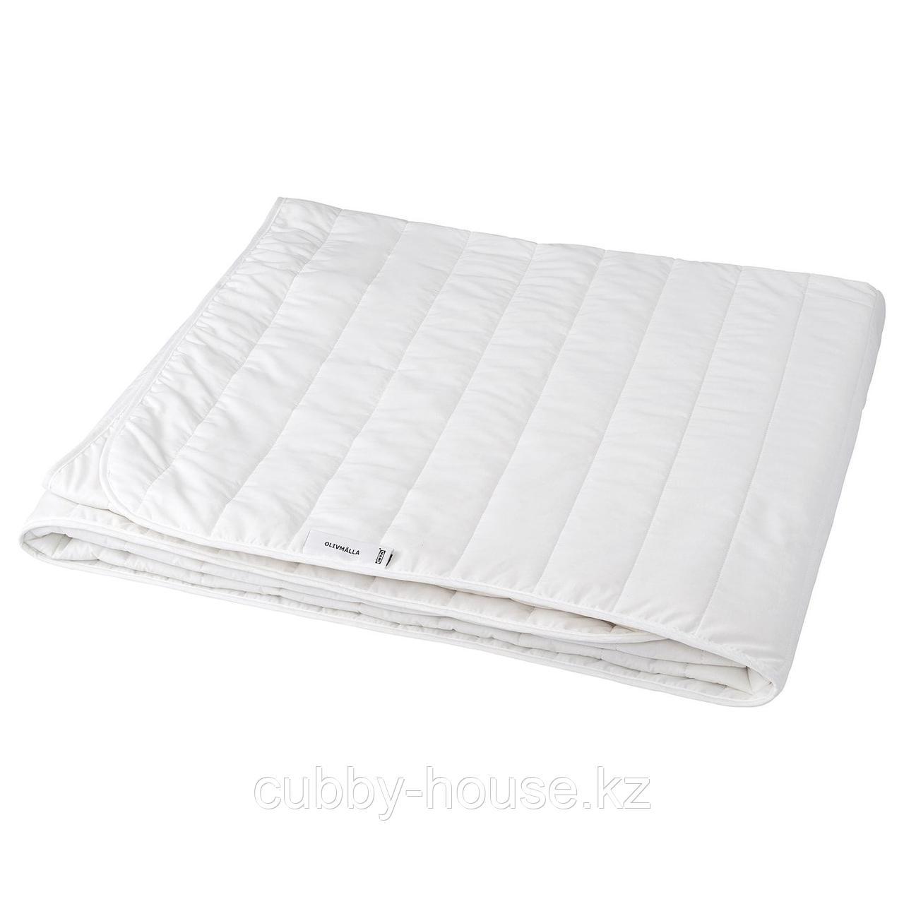 ОЛИВМОЛЛА Одеяло теплое, 200x200 см