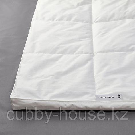 СТРАНДМОЛКЕ Одеяло теплое, 200x200 см, фото 2