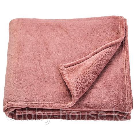 ТРАТТВИВА Покрывало, темно-розовый, 230x250 см, фото 2