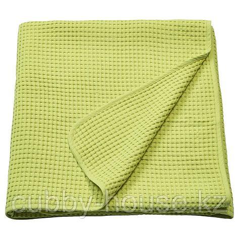 ВОРЕЛЬД Покрывало, светло-зеленый, 230x250 см, фото 2