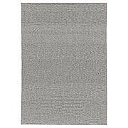 ТИПХЕДЕ Ковер безворсовый, серый, белый, 155x220 см
