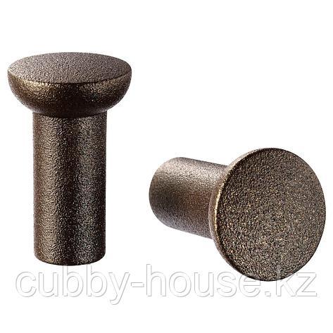 НИДАЛА Ручка мебельная, бронзовый цвет, 16 мм, фото 2