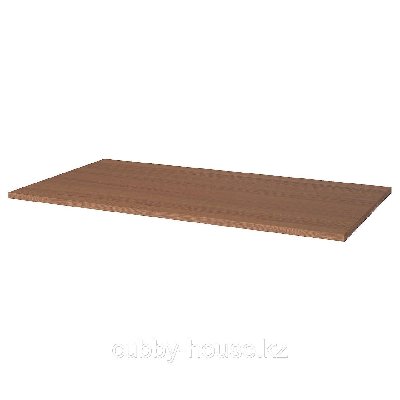 ИДОСЕН Столешница, коричневый, 160x80 см