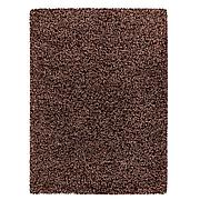 ВИНДУМ Ковер, длинный ворс, коричневый, 170x230 см